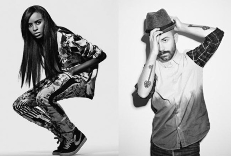 Woodkid and Angel Haze