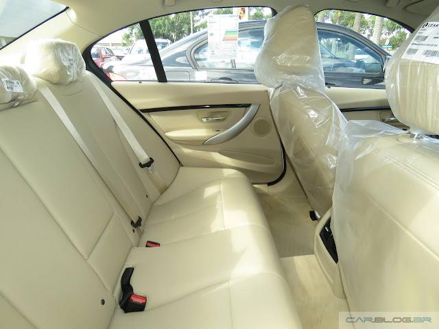 Novo BMW Série 3 2016 - interior