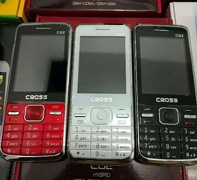 Cross CG2, Harga dan Spesifikasi,  Hp Dual SIM GSM – CDMA, Murah