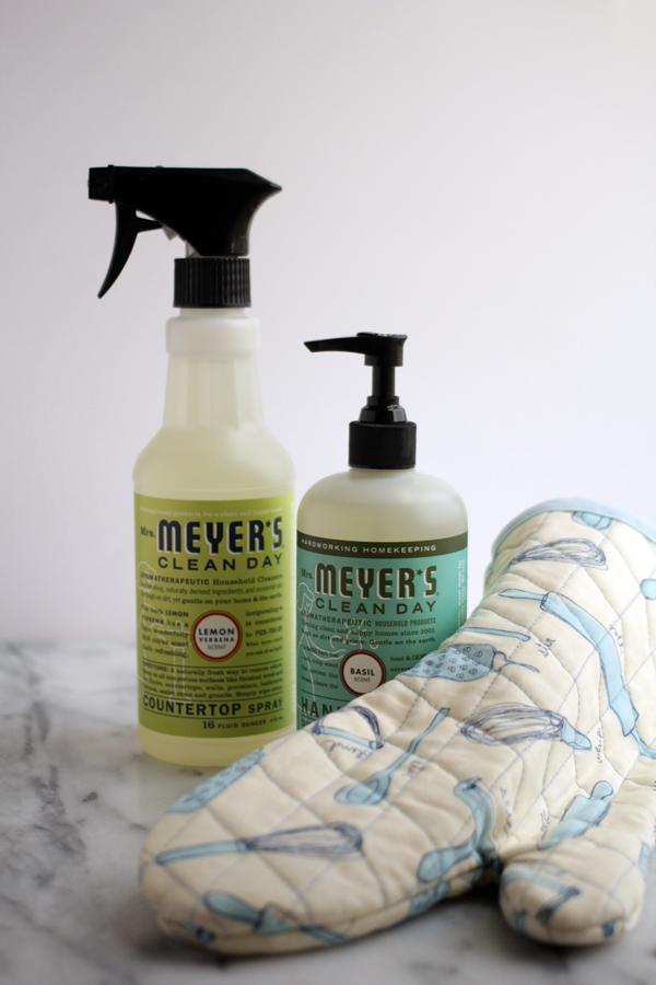 Cleaning with Mrs. Meyer's Clean Day®