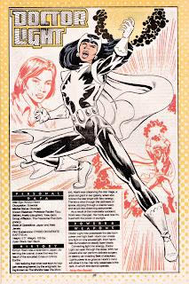 Doctora Luz (ficha dc comics)