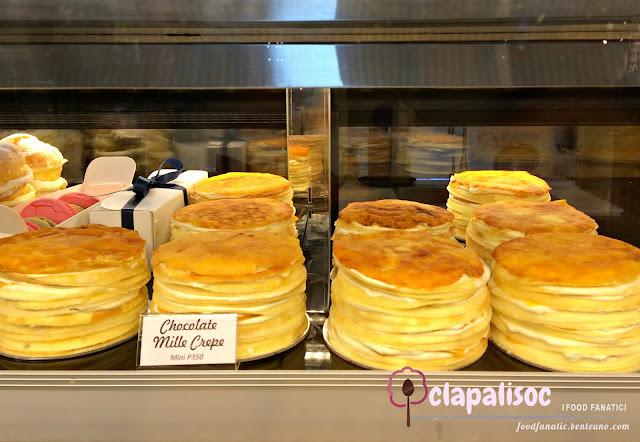 Paper Moon Cafe Glorietta Mini Mille Crepe