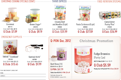 THRIVE Express, Cookbook, & Christmas-Only Special