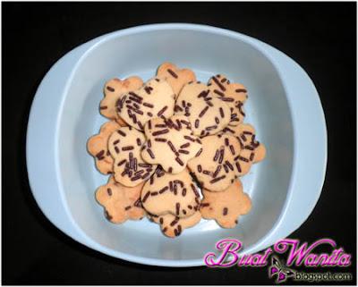 Resepi Asas Biskut Raya Senang Sukatan Cawan. Cara Mudah buat biskut raya sedap rangup best. biskut coklat rice