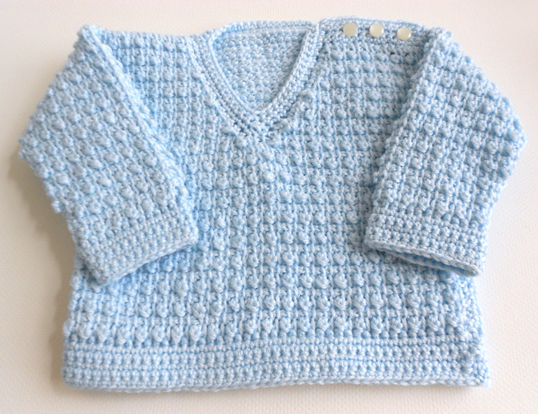 Tunisian Crochet Baby Sweater Free Pattern : Peachtree Cottage Creations: Tunisian Baby Sweater