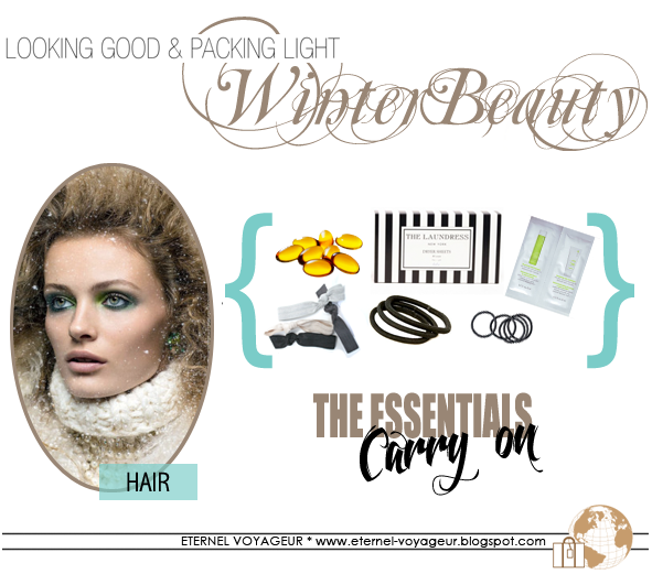winter haircare travel essentials