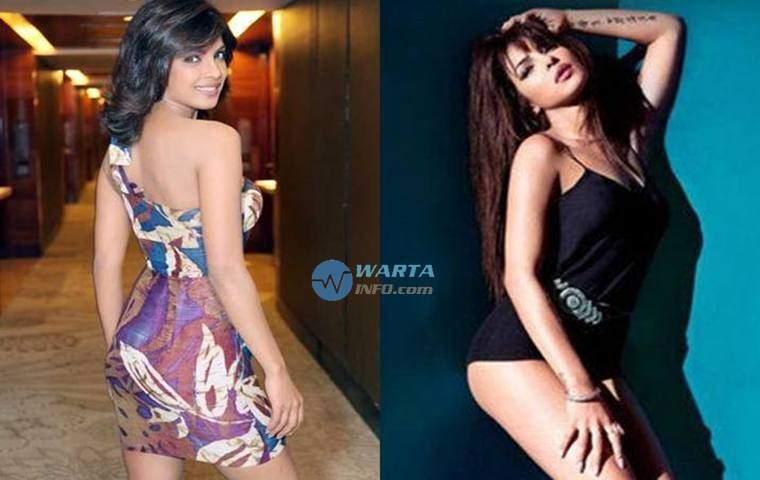 Foto Hot pose Priyanka Chopra Artis Wanita india dengan pantat bokong terseksi Terindah menggoda