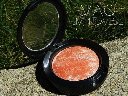mac improvise blush