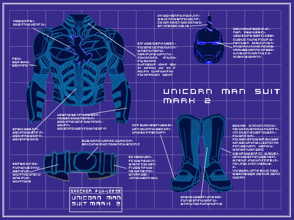 Iron Man Suit Design Schematics
