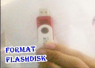Cara Format Flashdisk yang Tidak Bisa Diformat