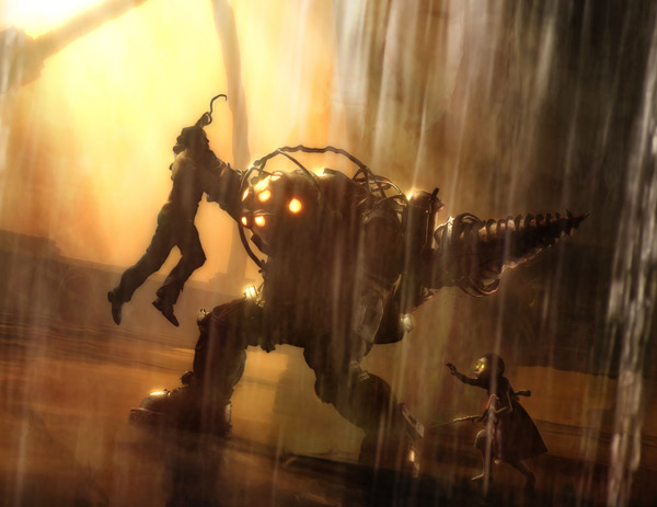 Bioshock fight