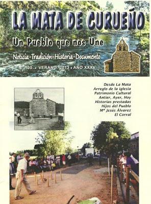Boletin 130 - Portada - Verano 2013 por La Mata de Curueño (León)