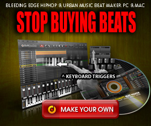 Make beats in a heart-beat - NO skills or studio required.