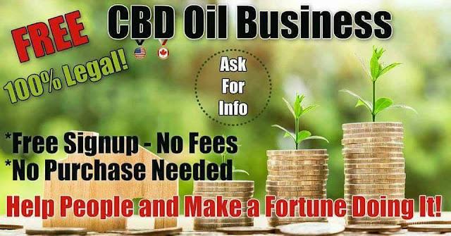 Free CBD Oil Business Pic.