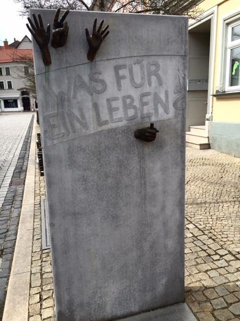 Erinnerung an die friedliche Revolution 1989 in Arnstadt
