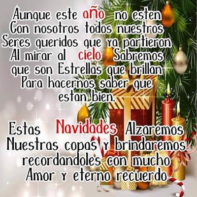 Feliz Navidad A Nuestros Seres Queridos En El Cielo