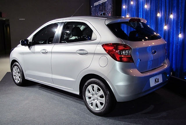 2016 New Ford KA Full Details And Price