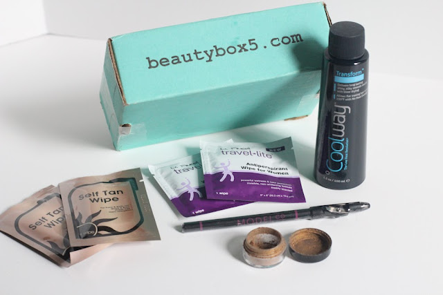 BeautyBox5 May 2013 Subscription Box