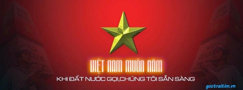 Ảnh nền Facebook cờ Việt Nam 3