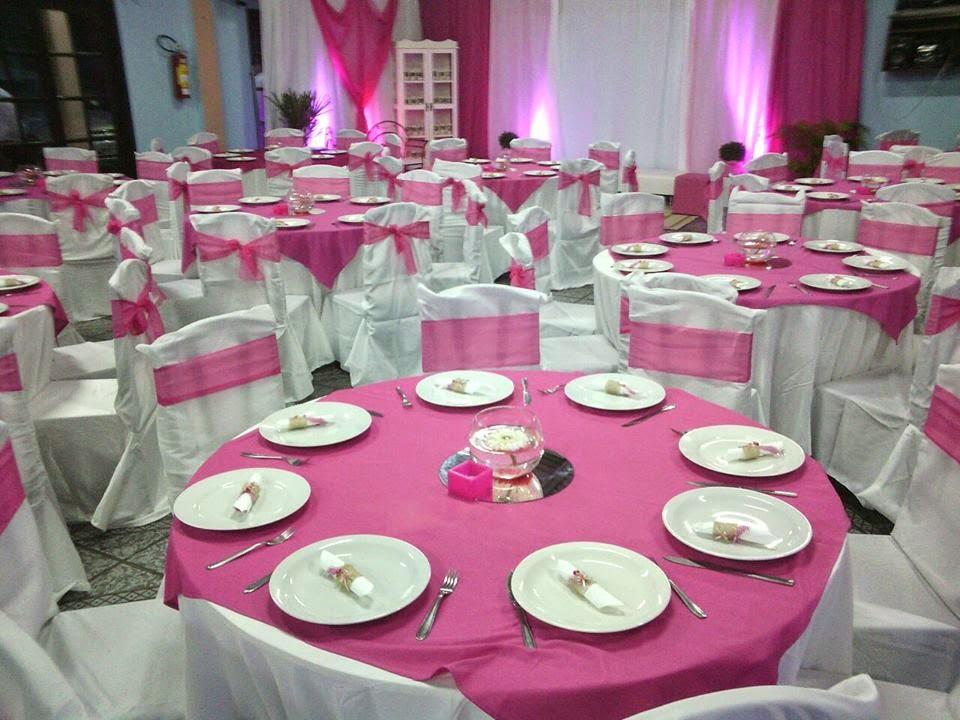 Decoração de salão de festas em Joinville