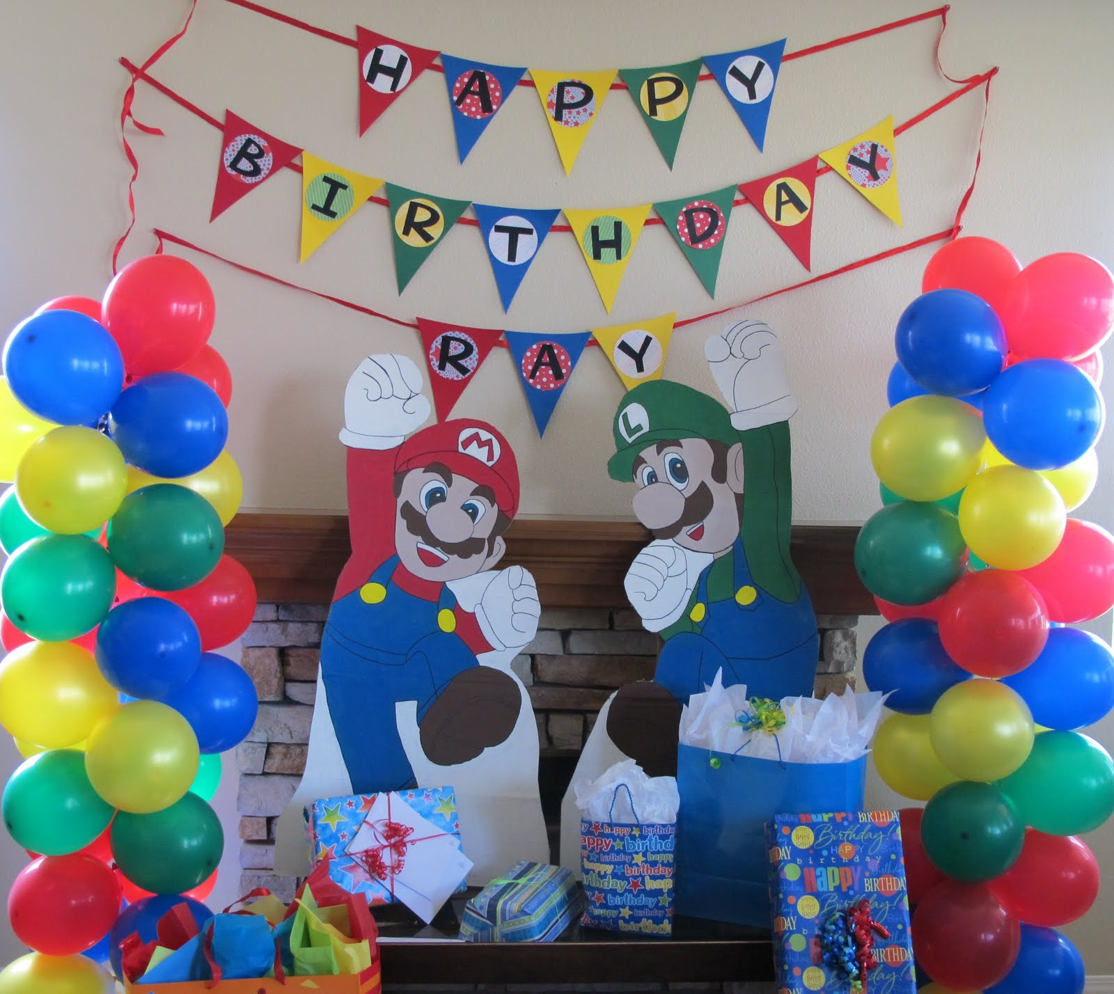 Every little detail event planning and design may 2011 - Luigi mario party ...