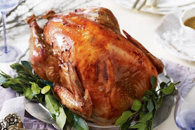 Maple-glazed turkey Recipe