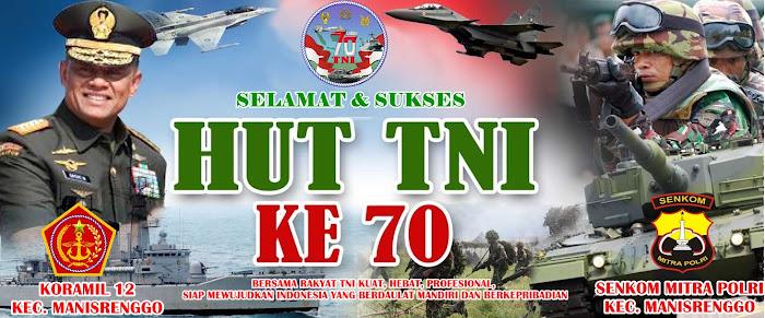 DIRGAHAYU TNI KE 70