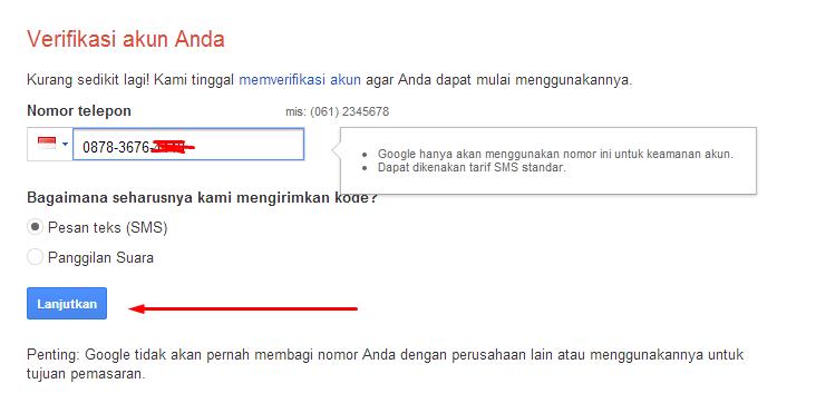 cara bikin akun google+