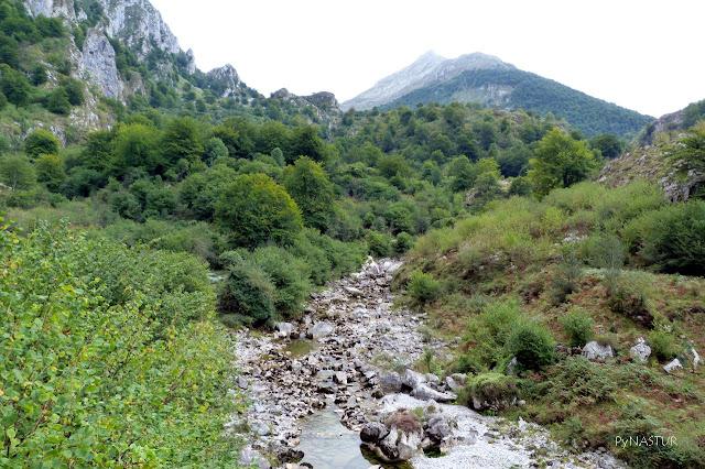 Río Dobra - Senda de La Jocica - Amieva - Asturias