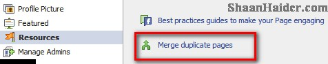 HOW TO : Merge Duplicate Facebook Pages