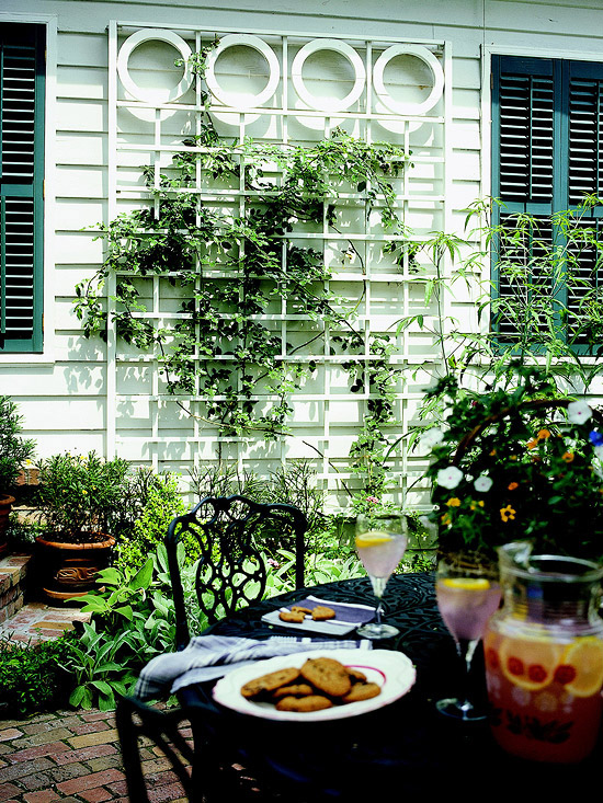 Trellis design ideas wall mount trellises home for Trellis design ideas