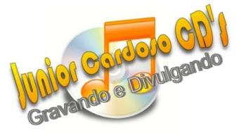 JUNIOR CARDOSO CD´S GRAVANDO E DIVULGANDO
