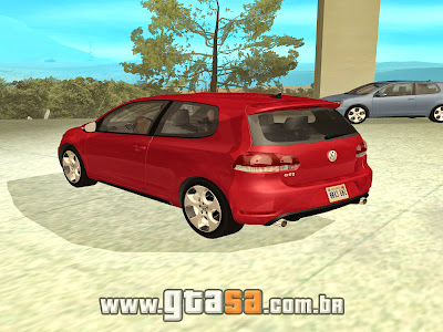 Vw Golf GTi mk6 para GTA San Andreas
