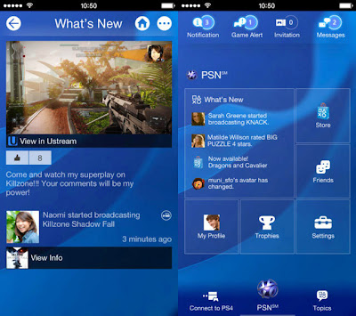 Sony Unveils iOS application for PS4