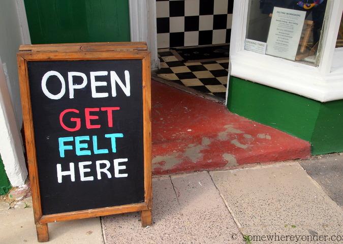 Local humour at St-Leonards-on-Sea, England