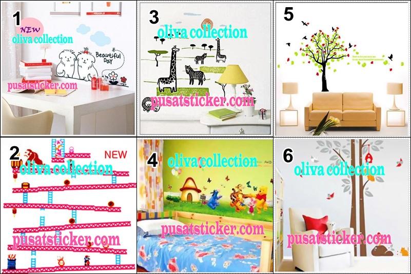 jual wall sticker murah se-jakarta,bandung,surabaya - olivacollection