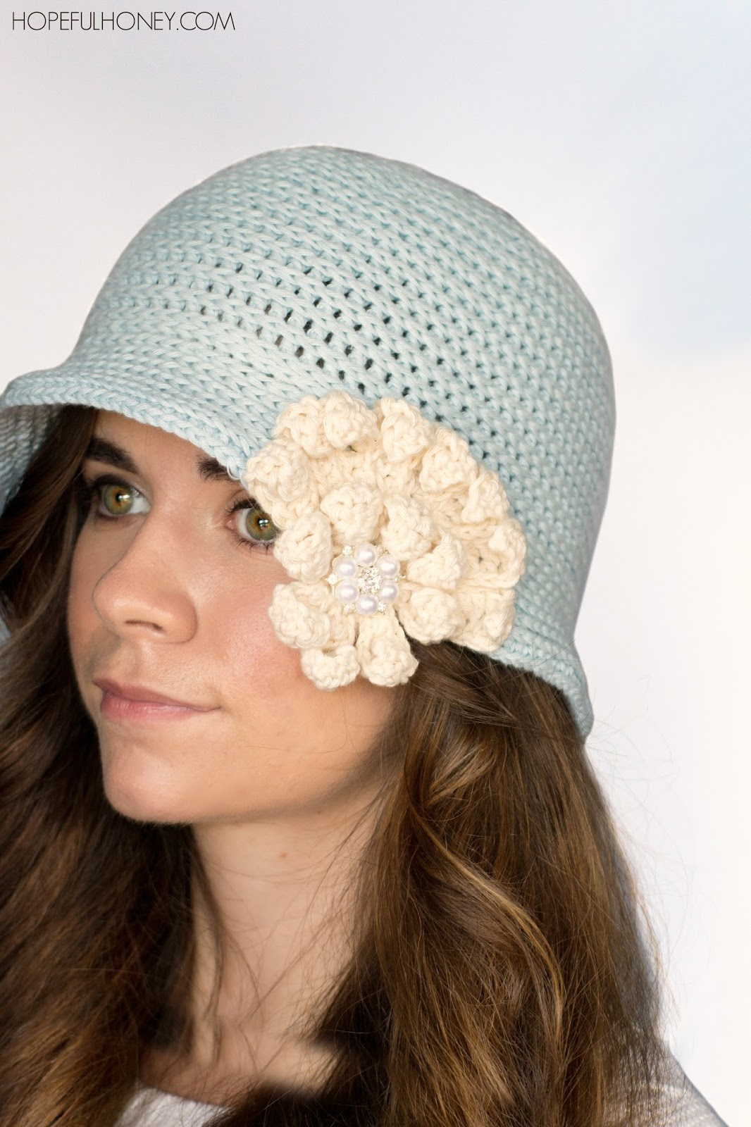 Crochet Hat Pattern Cloche : Hopeful Honey Craft, Crochet, Create: 1920s Snowflake ...