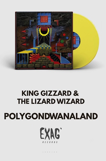 King Gizzard & The Lizard Wizard on EXAG' Records