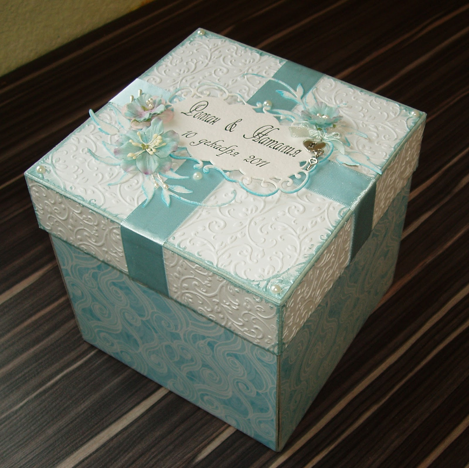 Подарочная коробка своими руками фото
