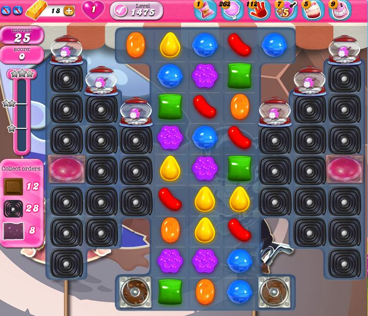 Candy Crush Saga 1475