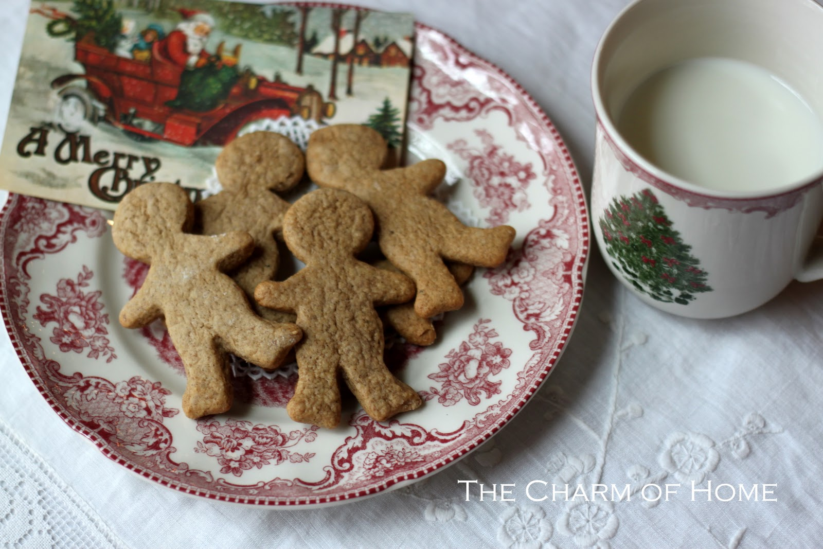 The Charm of Home: Spicy Gingerbread Cookies