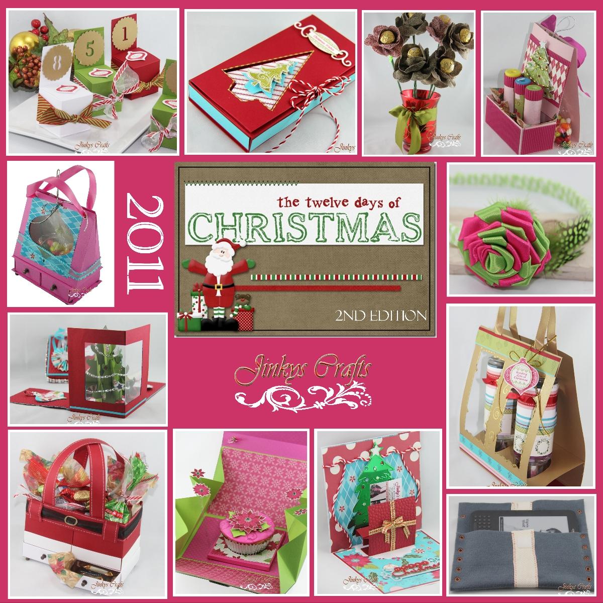 Nice 12 Days Of Christmas Craft Ideas Part - 10: Multi-Purpose Christmas Chair Box U2013 Day 12