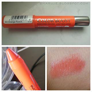 Bourjois – Color Boost – nr 03 Orange Punch [recenzja]