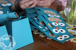 Owl Party Favor Bags