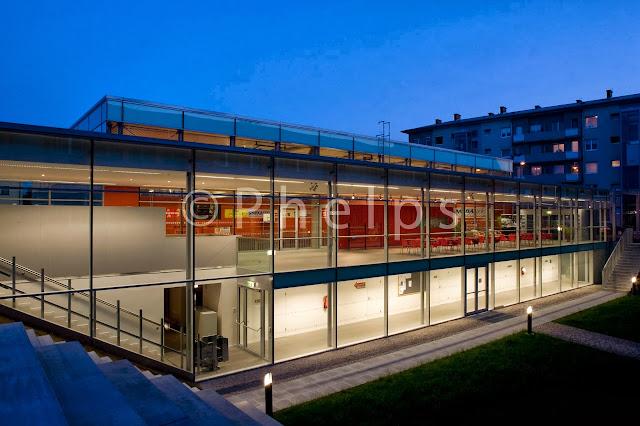 Turnhalle Vogelweide - Arch. Gerhardt Zwettler - Foto Andrew Phelps