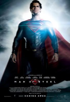 man of steel,superman,movie poster