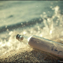 i-love-you, bottle, beach, sand
