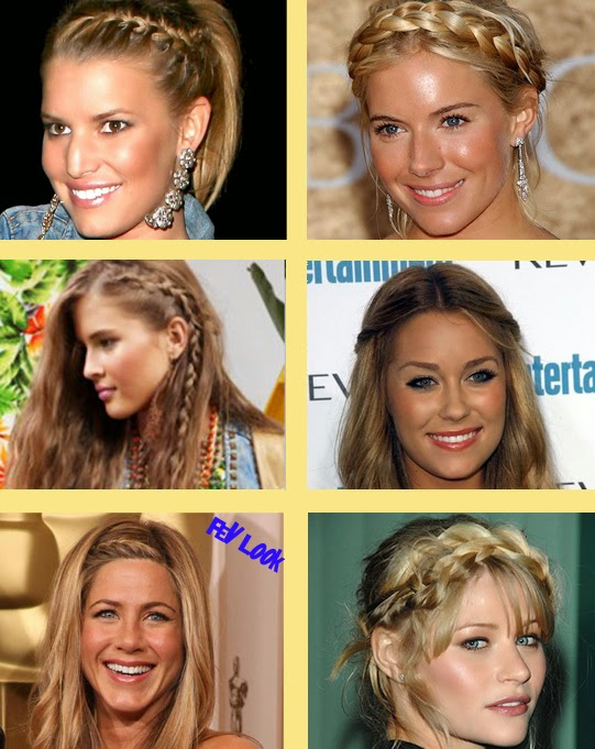 braided bang hairstyles