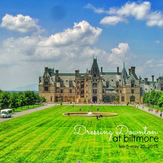 Downtown Abbey costumes are visiting Biltmore Estate