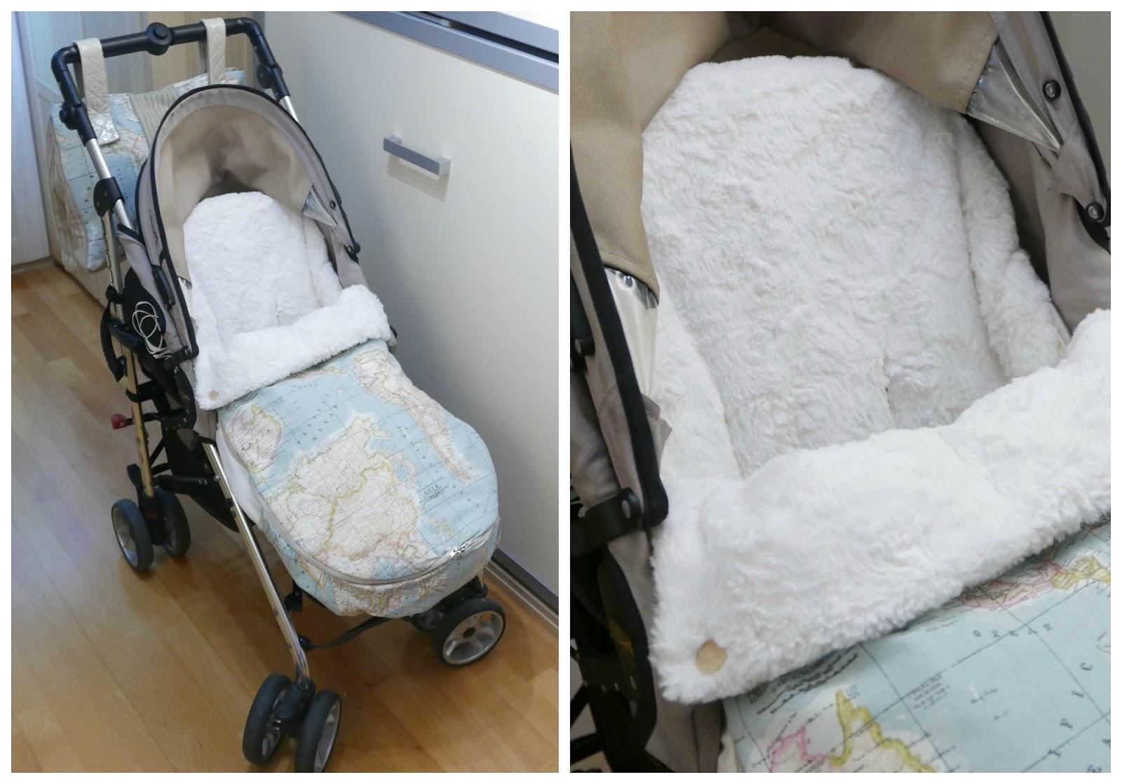 Cose conmigo un saco universal para silla de paseo de beb for Saco para silla maclaren
